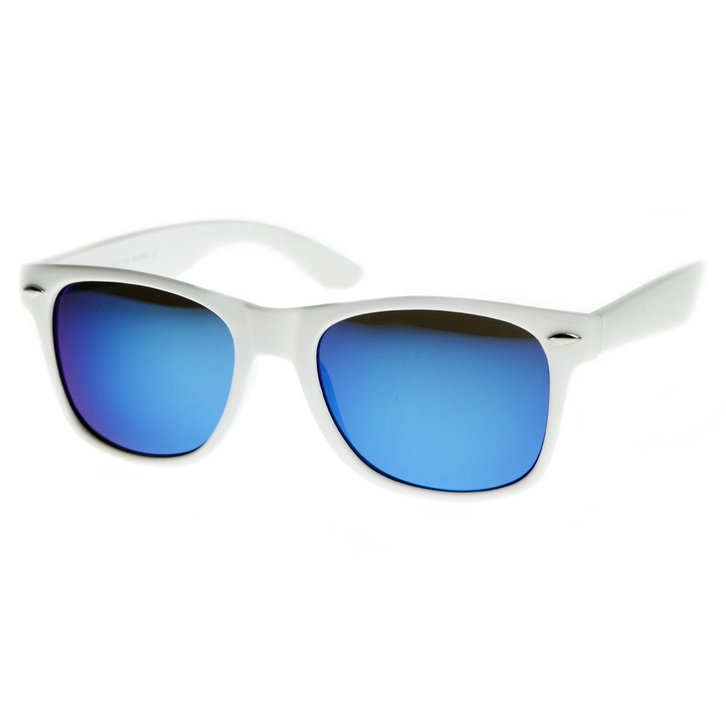 White Sunglasses - Ice