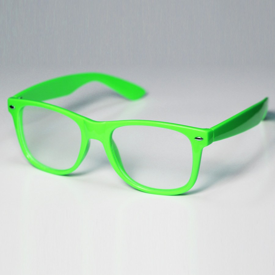 Diffraction Glasses - Neon Green