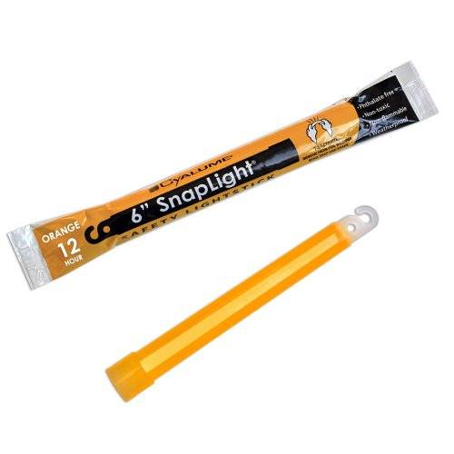 "6"" Orange Cyalume SnapLight Glowstick"