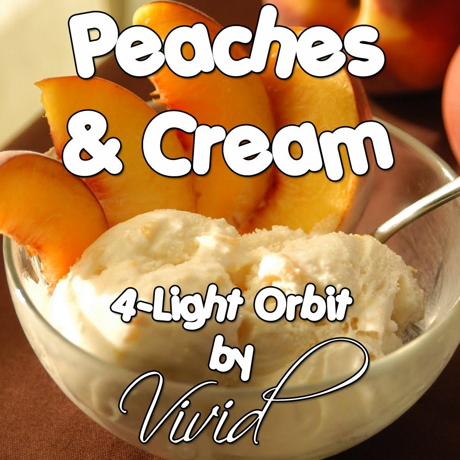 Peaches & Cream 4-Light LED Orbit