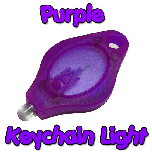 Purple Keychain Light