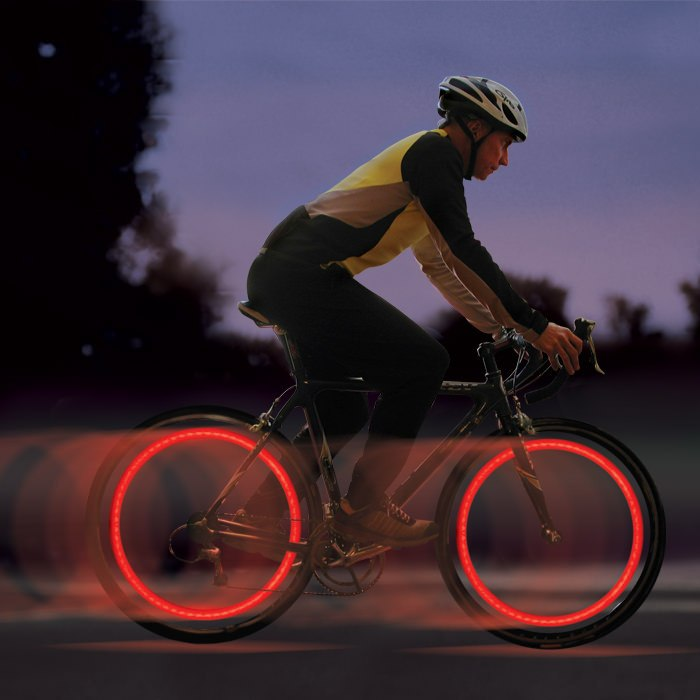 SpokeLit LED Spoke Wheel Light - Red