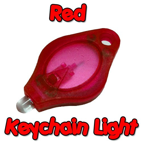 Red Keychain Light
