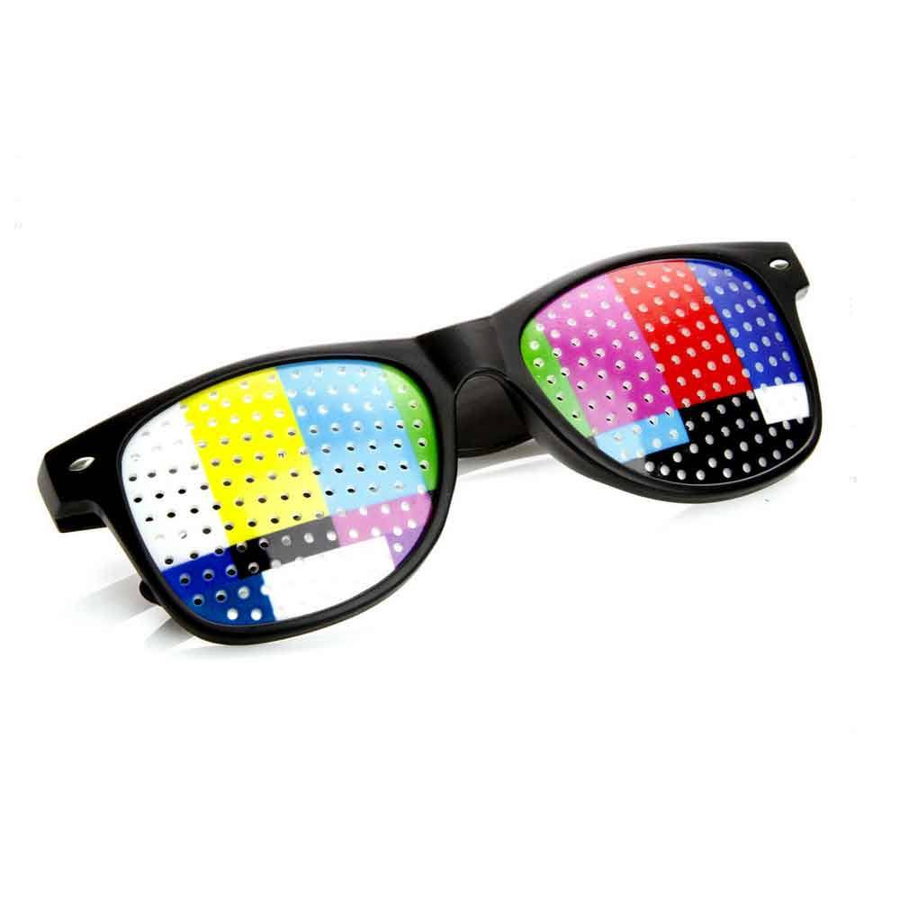 SMPTE Color Bars Sunglasses