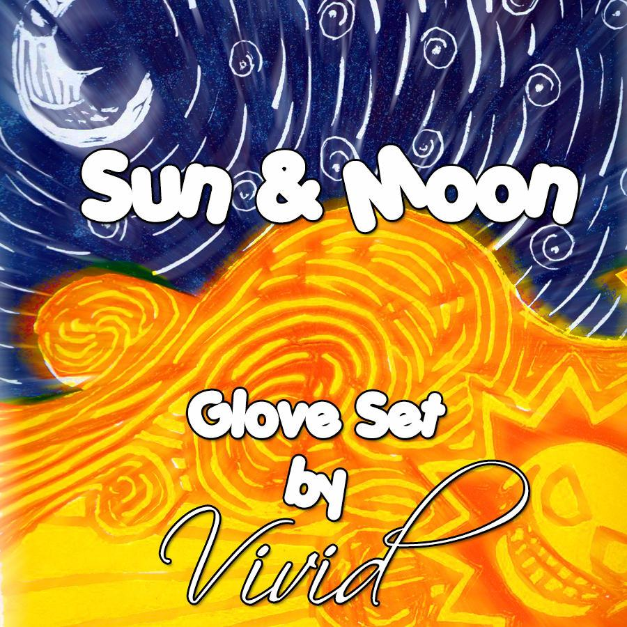 Sun & Moon Glove Set