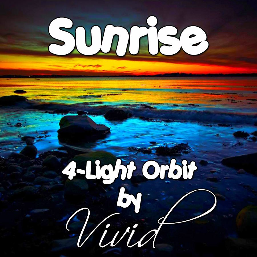 Sunrise 4-Light LED Orbit