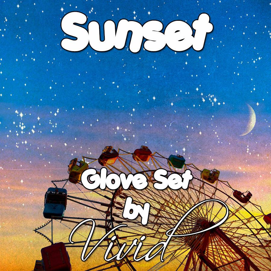 Sunset Glove Set
