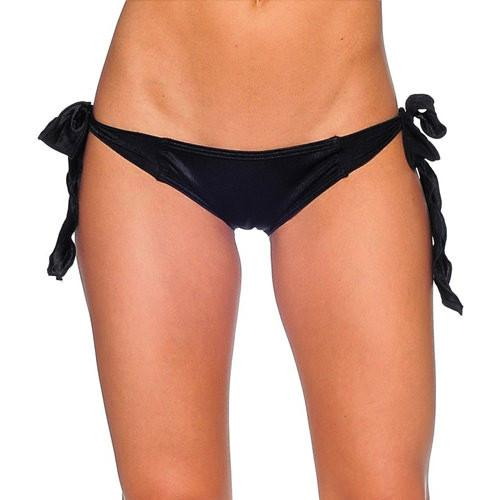 Tie Side Rio Scrunch - Black