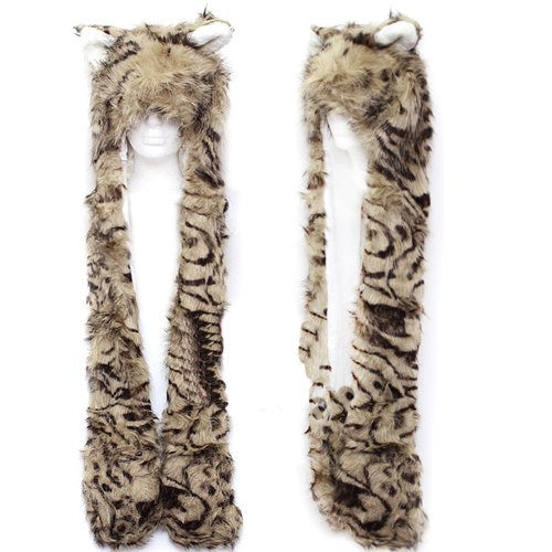 Tiger Hat Pocket Scarf
