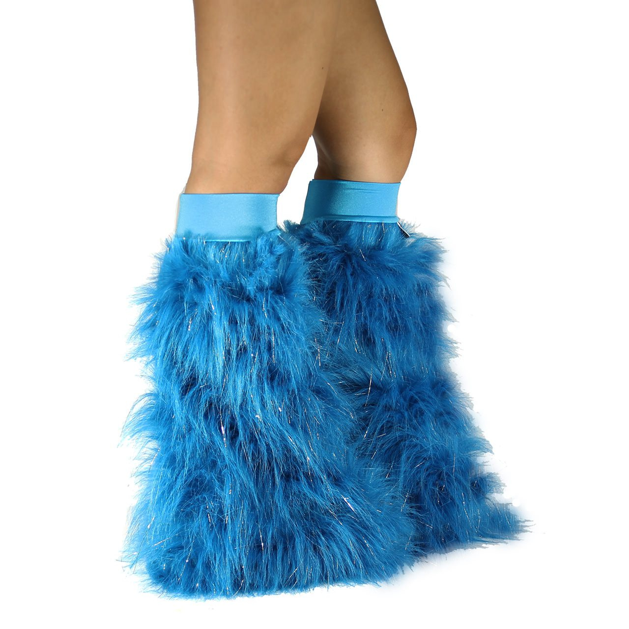 Turquoise Sparkle Fluffies