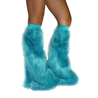 Turquoise Soft Fur Fluffies
