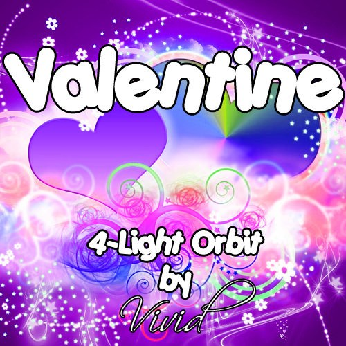 Valentine 4-Light LED Orbit