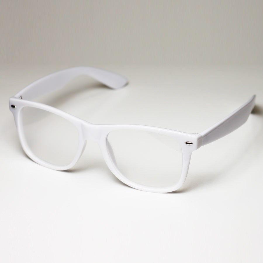 Diffraction Glasses - White