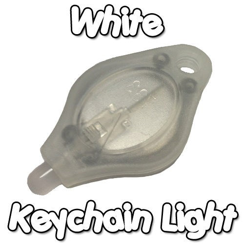 White Keychain Light