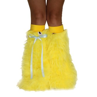 Neon Yellow Fluffies