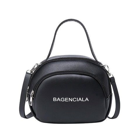 Heysweeta Women Handbag White Handbag Black Handbag