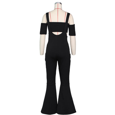 Heysweeta Sweatheart Women Chest Wrap and One Piece Pants