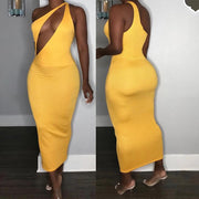 Heysweeta Sexy Night Club Dress Midi Dress Skinny Women Summer Dress