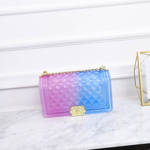 Heysweeta Gradient Color Women Handbag Women Bag