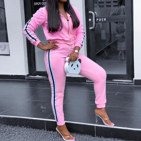 Heysweeta Two Peices Women Sweatsuit (Flash sale ended.£©