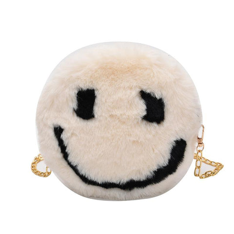Heysweeta Smile Face Women Handbag Women Purse