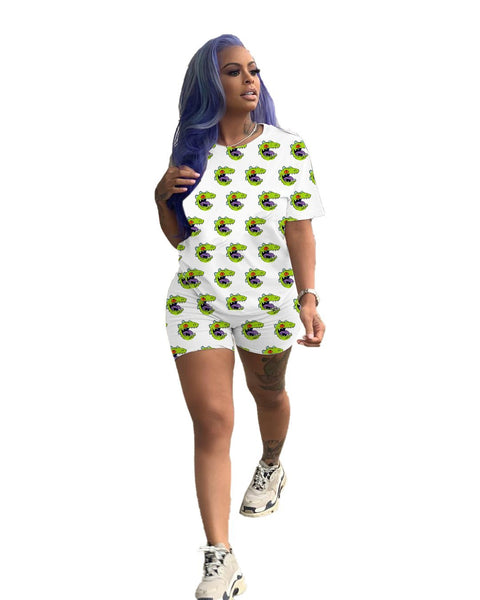 Heysweeta Fashion Printing T-shirts and Shorts