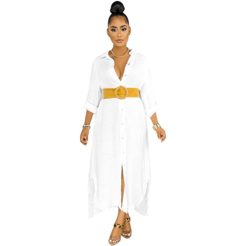 Heysweeta 2020 Summer Dress shirt Dress