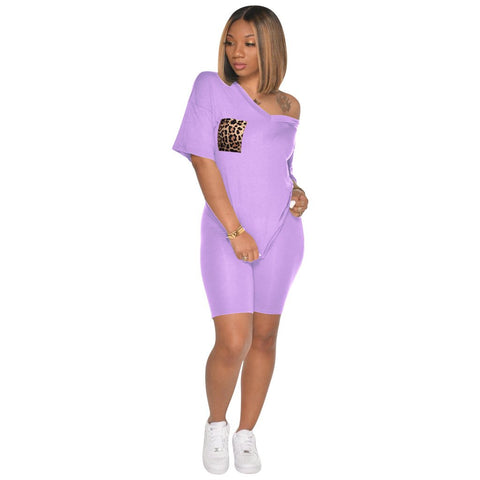 Heysweeta 2020 Fashion Sweatsuit Women Outfit Shorts Set