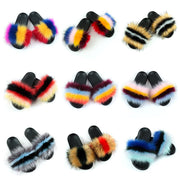 Heysweeta Furry Slippers Women Slippers Furry Slippers