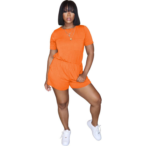 Heysweeta Casual Romper One PIece Romper suit