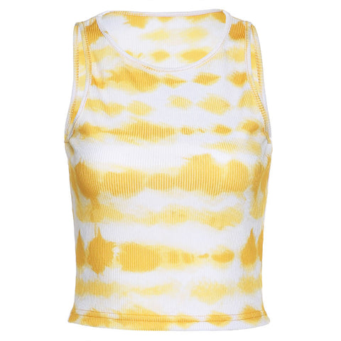 Heysweeta Women Tank Tops Printing Tops Sleeveless Tops