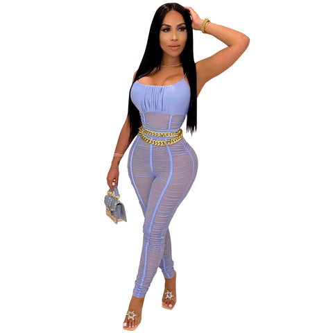 Heysweeta Sexy Women Jumpsuit Summer Jumpsuit