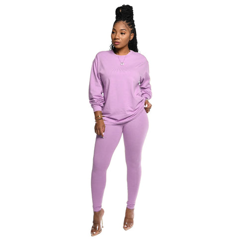 Heysweeta Women Sweatsuits Two Pieces Outfit