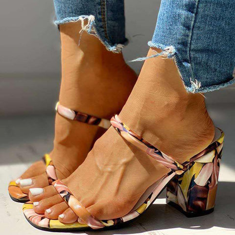 Heysweeta 2020 Sandals Women Sandals High Heels Sandals US Women Sandals
