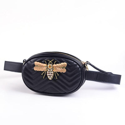 Heysweeta Women Bag Handbag Waist Bag with Honeybee