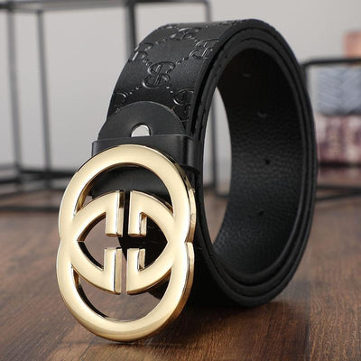 Heysweeta Leather Letters Fashion Leather Belt (Limited sale ended.)