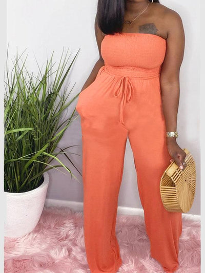 Heysweeta off the Shoulder One Piece Jumpsuit Causl Jumpsuit