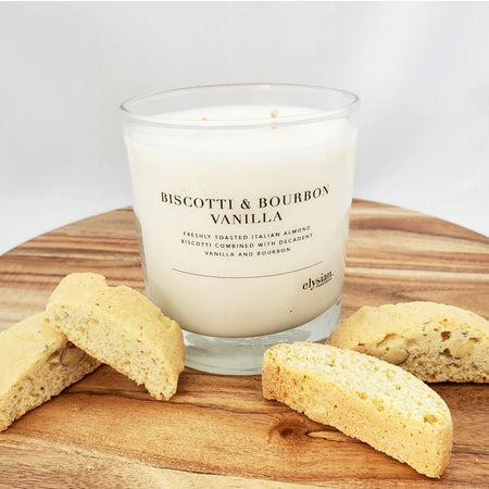 Biscotti & Bourbon Vanilla - LIMITED EDITION - Elysian Fragrance