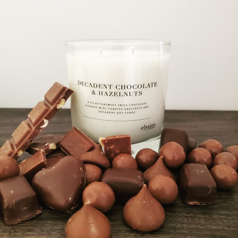 Decadent Chocolate & Hazelnuts - LIMITED EDITION - Elysian Fragrances