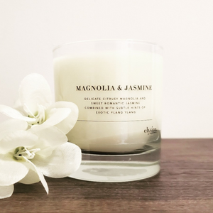 Magnolia & Jasmine - LIMITED EDITION - Elysian Fragrances
