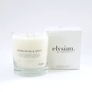 Warm Musk & Spice - Elysian Fragrance
