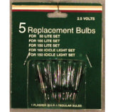 2.5v replacement bulbs 5pk