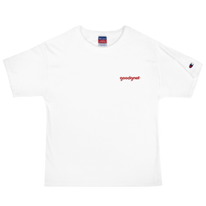 Embroidered Pyrex logo Men's Champion Tee