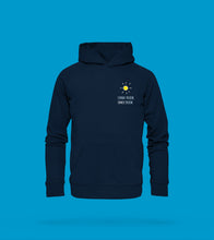 Laden Sie das Bild in den Galerie-Viewer, Hoodie Unisex in Navy-Blau Prerow
