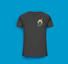 Laden Sie das Bild in den Galerie-Viewer, Kinder T-Shirt in Anthrazit/Grau Göhren Regenbogen Motiv