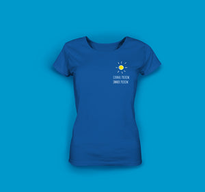 Frauen T-Shirt in Blau Prerow