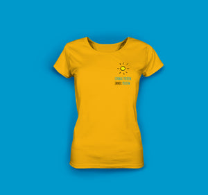 Frauen T-Shirt in Gelb Prerow