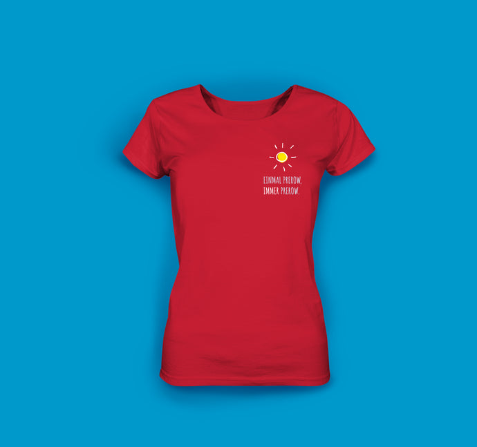Frauen T-Shirt in Rot Prerow