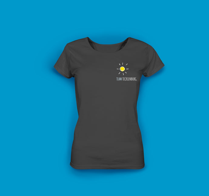 Frauen T-Shirt in Anthrazit Team Tecklenburg