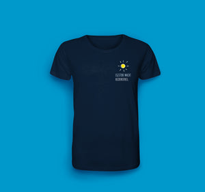 Herren T-Shirt in Navy. Egestorf macht Heidenspass.